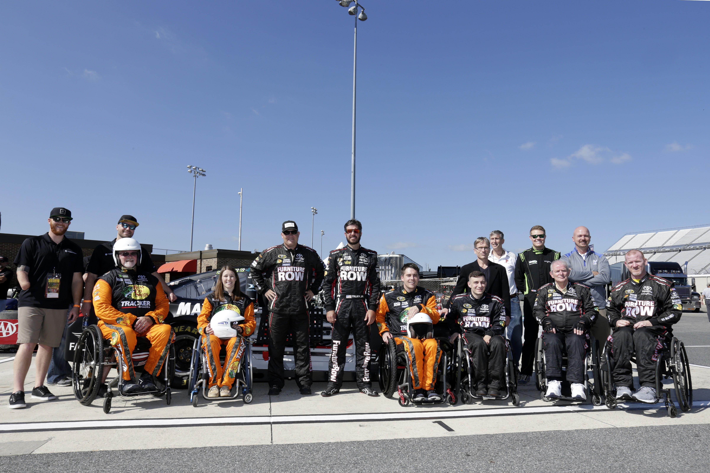 At Dover International Speedway in Dover, Delaware on September 28, 2017. CIA Stock Photo